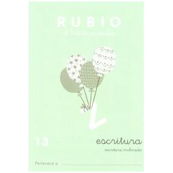RUBIO, Escritura No.13