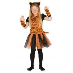 Disfraz de Tigresa Infantil - Disfraz de tigre para niña
