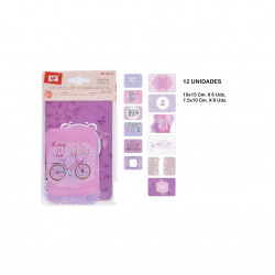 Set de 12 Tarjetas de Scrapbooking No.3