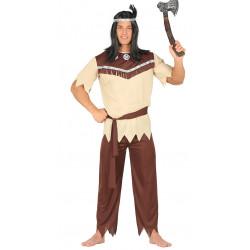 Disfraz de Indio Cherokee para adulto