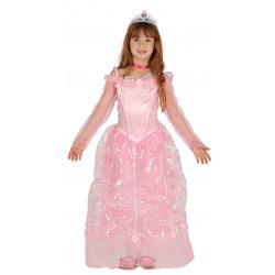 Disfraz de princesa rosa infantil - Disfraz de princesa Aurora para niña