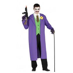 Disfraz de bufón asesino adulto. Disfraz de Joker para hombre