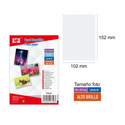 Papel Fotográfico Brillo 102 x 152 mm. Papel para imprimir fotos