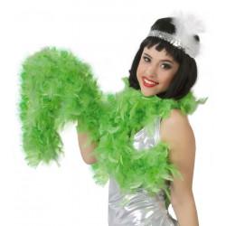 Boa pluma verde