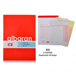 Talonario Albarán , 35 Juegos A4