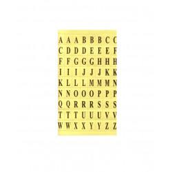 Etiquetas Letras, 800 Unidades Oro