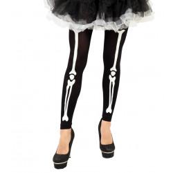 Leggings esqueleto adulto