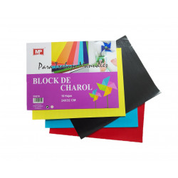 Block de Papel Charol, 10 Colores
