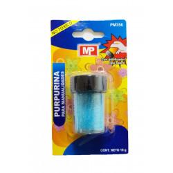 Purpurina para Manualidades, Azul Celeste 10 gramos