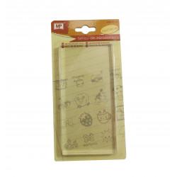 Base Acrílica Para Sellos, 15 cm. Metacrilato para sellos de silicona