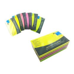 Notas Adhesivas 125x75mm, 480 Hojas. Taco de Post it