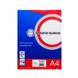 Etiquetas Blancas 105x148mm. Etiquetas Adhesivas para Imprimir