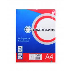 Etiquetas Blancas 210x148mm. Etiquetas Adhesivas para Imprimir