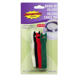 Bridas de Velcro, 4 Unidades