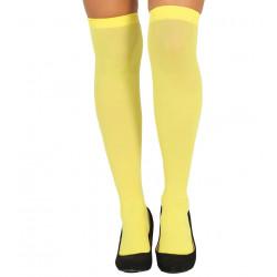 Medias amarillas