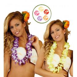 Collar hawaiano varios colores