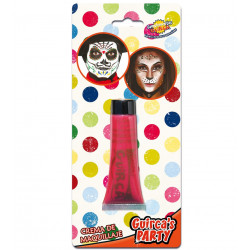 Maquillaje en Crema para Carnavales, Rojo