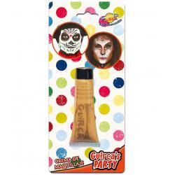 Maquillaje en Crema para Carnavales, Oro