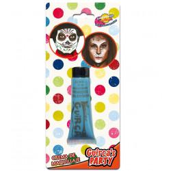Maquillaje en Crema para Carnavales Azul Oscuro