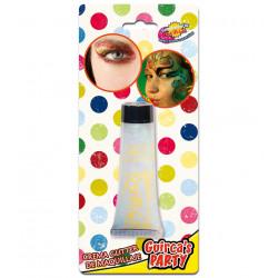 Glitter blanco en crema - Maquillaje purpurina para carnavales