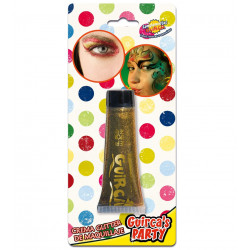 Glitter oro en crema - Maquillaje purpurina de fiesta