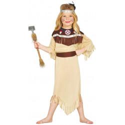 Disfraz de India Cherokee Infantil - Disfraz de India para Niña