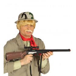 Rifle Francotirador de cazador para disfraz. PVC 70 cm