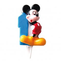 Vela Mickey Mouse  Nº 1