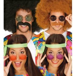 Gafas hippie varios colores