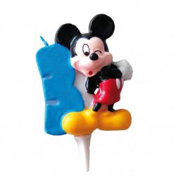 Vela Mickey Mouse Nº 3