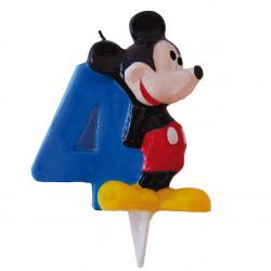 Vela Mickey Mouse Nº 4