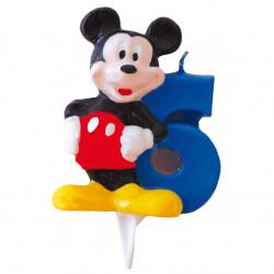 Vela Mickey Mouse Nº 6
