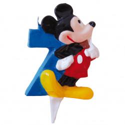 Vela Mickey Mouse Nº7