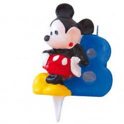 Vela Mickey Mouse Nºv8