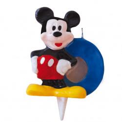 Vela Mickey Mouse Nº0