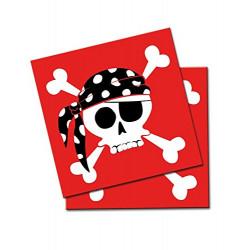 Servilletas Pirata, 20 Unidades
