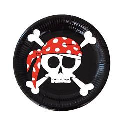 Platos Pirata, 8 Unidades