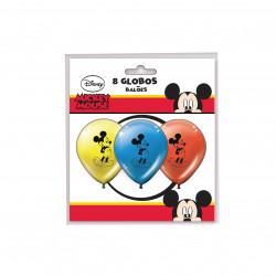Globos Mickey Mouse, 8 Unidades