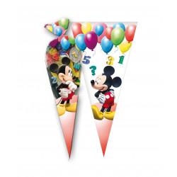 Bolsas Mickey Mouse, 6 Unidades
