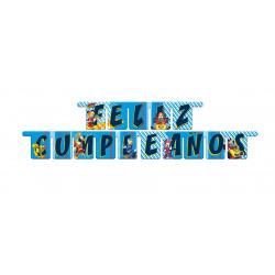 Guirnalda 'Feliz Cumpleaños', Mickey y los Super Pilotos
