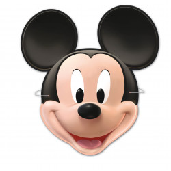 Caretas Mickey Mouse, 6 Unidades