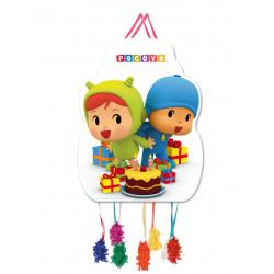 Piñata Pocoyo y Nina, 33x46cm