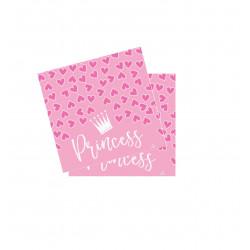 Servilletas Princess, 20 Unidades