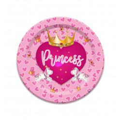 Platos Princess, 8 Unidades