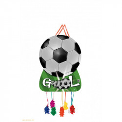 Piñata Gool, 62x46cms.