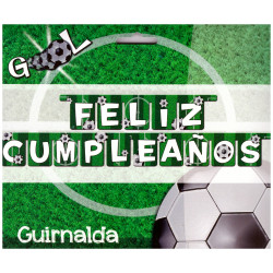 Guirnalda 'Feliz Cumpleaños', Gool