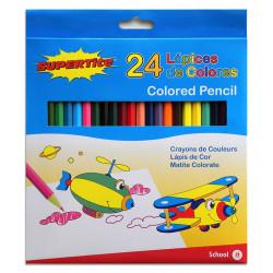 Lápices de Colores, 24 Unidades