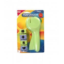 Perforadora Con Recambio, 16 cms. Perforadora de formas scrapbook