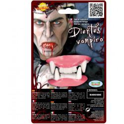 Dientes de vampiro de goma
