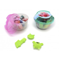 Mini Cubo Plastilina, 10 Unidades